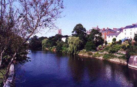 River at Tiverton